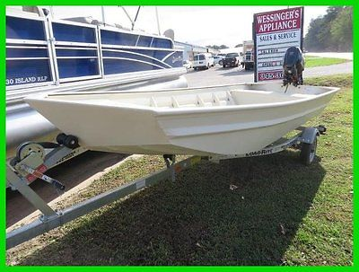NEW 2015 SeaArk MV 1648 All Welded Aluminum Boat NEW 4 Stroke Suzuki 25 Trailer