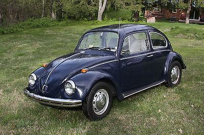 Volkswagen : Beetle - Classic standard 1968 blue volkswagen beetle bug vw