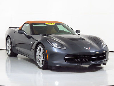 Chevrolet : Corvette 2dr Z51 Convertible w/2LT 2014 chevrolet corvette convertible low miles stingray