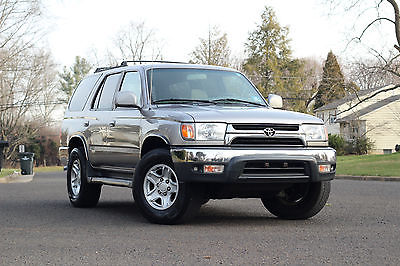 Toyota : 4Runner SR5 4WD DIFF LOCK 4x4  97 2002 2001 toyota 4 runner sr 5 4 wd runs great 1 owner 4 x 4 perfect service histor