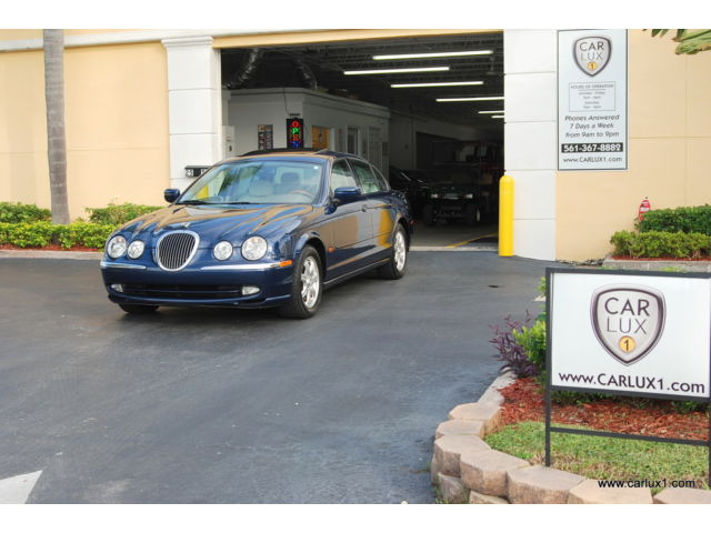 Jaguar : S-Type 4dr Sdn V8 LOW MILES - GREAT CONDITIONS - RIDE & DRIVE -