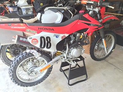 Honda : CRF 2008 Honda Crf 150 Trail Dirt Bike Great Condition Electric  Start Used