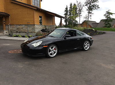Porsche : 911 C4S black wide body C4S