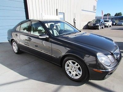 Mercedes-Benz : E-Class E320 3.2L CDI Turbo Diesel Sedan 2005 mercedes benz e 320 3.2 cdi turbo diesel sunroof leather sdn 05 mb w 211