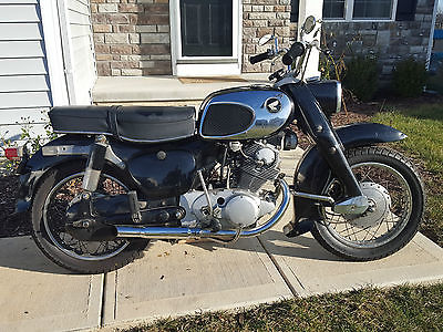 Honda : CA 1966 honda ca 77 305 dream cb ca cl twin original condition survivor