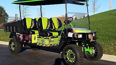 Monster Zombie Golf cart car E Z GO gas car buggy street legal Resident Evil