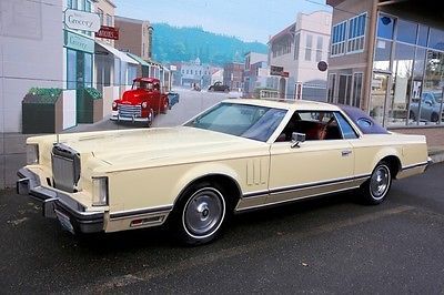 Lincoln : Continental Mark V 1979 lincoln continental mark v very clean and nice