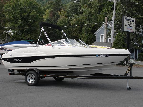 TRAILERABLE BOAT COVER  RINKER 180 BR BOWRIDER I//O 2001 GREAT QUALITY