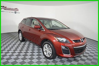 Mazda : CX-7 S Touring 2.3L I4 4WD Used SUV w/ Leather Seats FINANCING AVAILABLE! 75k Mi Used 2011 Mazda CX-7 S Touring SUV AWD Sunroof