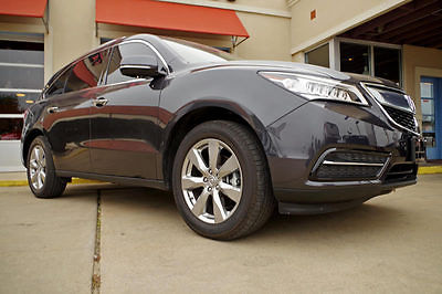 Acura : MDX Advance AWD 2016 acura mdx advance awd advance package moonroof leather more