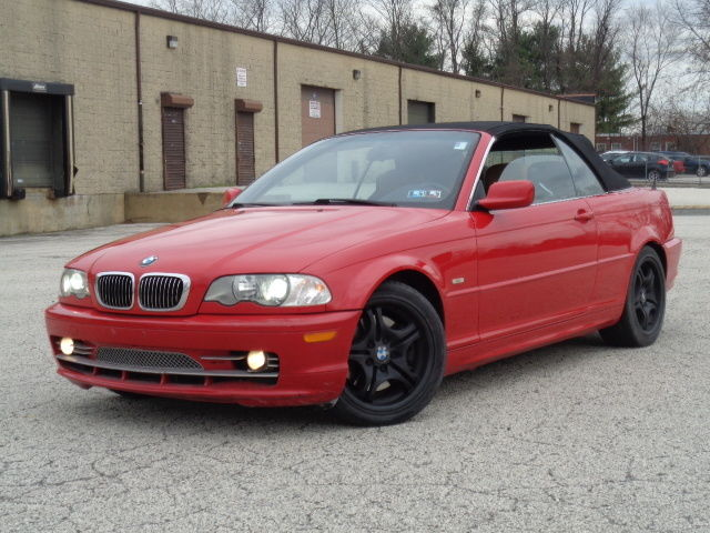 BMW : 3-Series 330Ci 2dr Co 2002 bmw 330 ci sport convertible red brown interior loaded rare 5 spd good miles