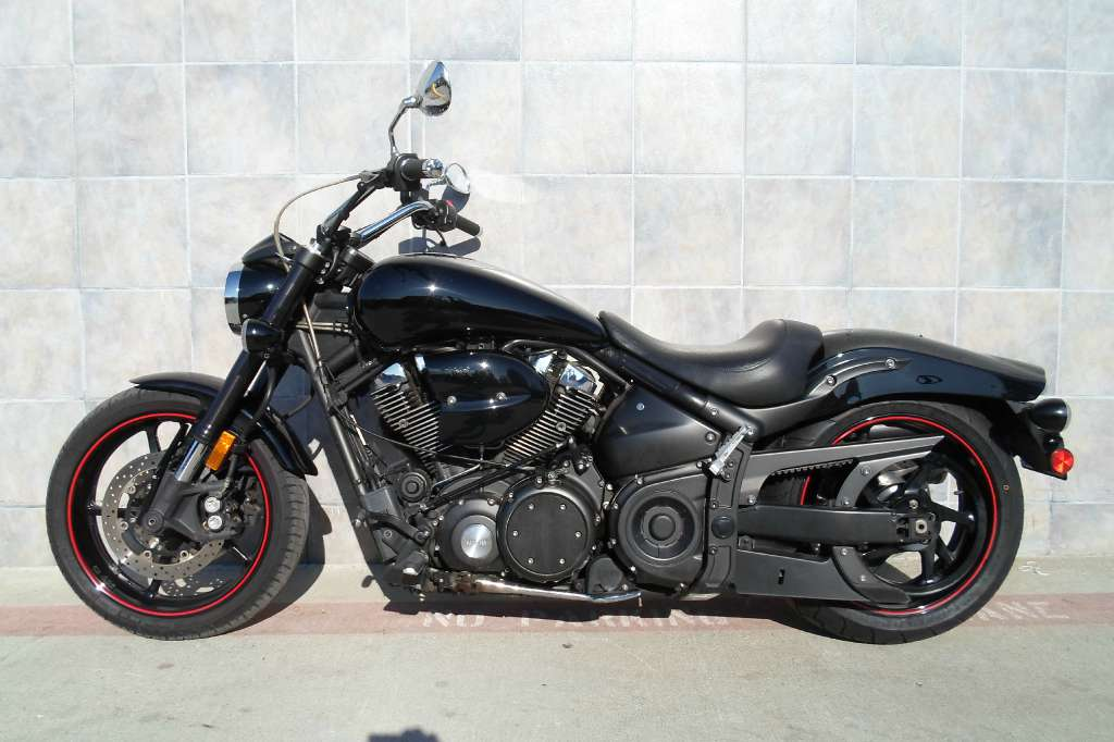 Yamaha midnight warrior motorcycles for sale in california for Yamaha warrior for sale