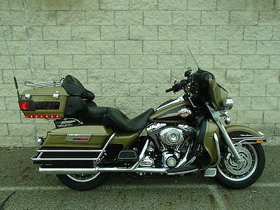 Harley-Davidson : Touring 2007 harley davidson flhtcu electra glide ultra in green and black um 30671 c s