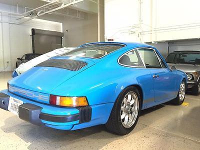 Porsche : 911 coupe 1975 porsche 911 s restored mexico blue