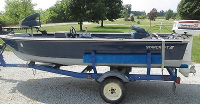 1974 StarCraft 14' Fishing Boat 35 HP Johnson Seahorse