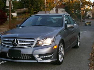 Mercedes-Benz : C-Class sport 2013 mercedes c 300 4 matic sport navigation