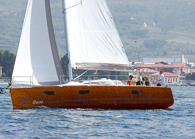 ZEPHYR 33' European Preformance Sail Cruiser NEW!!! + 3 axle Trailer