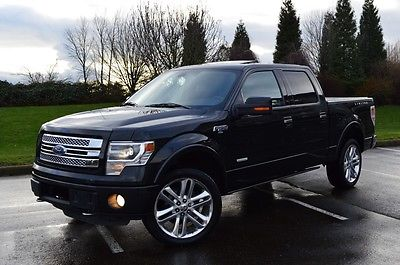 Ford : F-150 Limited Crew Cab Pickup 4-Door 2013 ford f 150 limited crew cab pickup 4 door 3.5 l 4 x 4 supercrew f 150 loaded