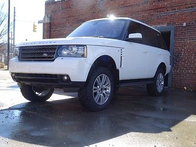 Land Rover : Range Rover HSE LUX Lifted LUX 2012 Range Rover Low Miles