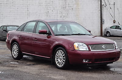 Ford : Taurus Mercury Montego Premier Only 85K Heated Leather Seats Sunroof Xenons Clean Family Car Rebuilt 06 08 09