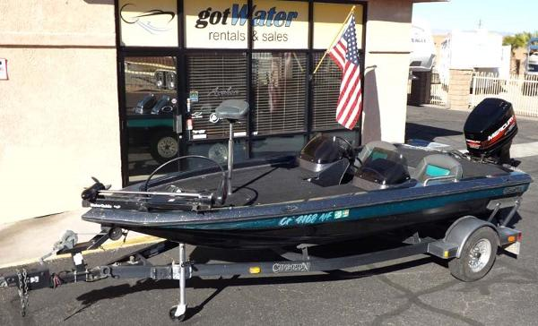 1996 Champion 181 DC Bass Boat
