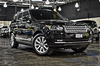 Land Rover : Range Rover HSE LUX 2015 land rover range rover hse lux power running boards vision assist pkg