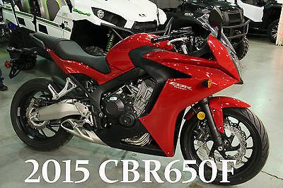 Honda : CBR New 2015 Honda CBR650F Sport INLINE-FOUR CBR650 CBR 1.59 APR avil call adam 7899