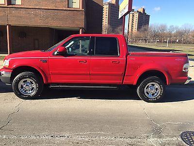 Ford : F-150 4D SuperCrew Lariat 2001 ford f 150 supercrew 4 d lariat 4 x 4