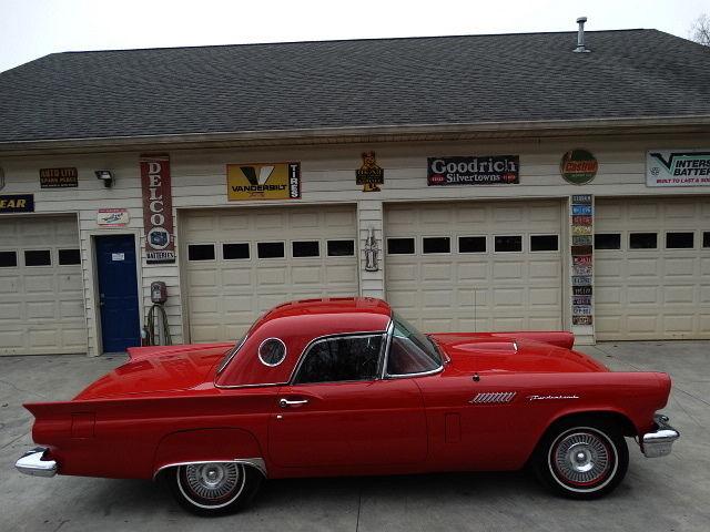 Ford : Thunderbird 1957 thunderbird both tops bargain price