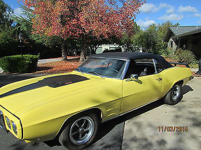 Pontiac : Firebird 1969 firebird conv