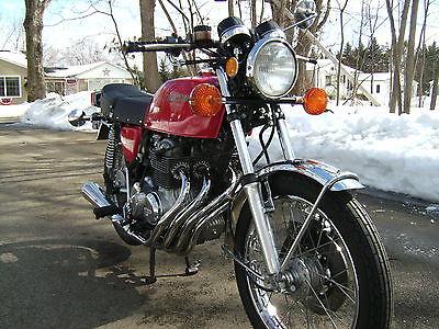 Honda : CB 1975 honda cb 400 f supersport 400 four excellent original restored condition
