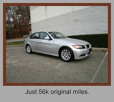 BMW : 3-Series 328xi 56k miles New Tires 07 bmw 328 xi 4 x 4 leather moonroof heated seats clean car fax low miles