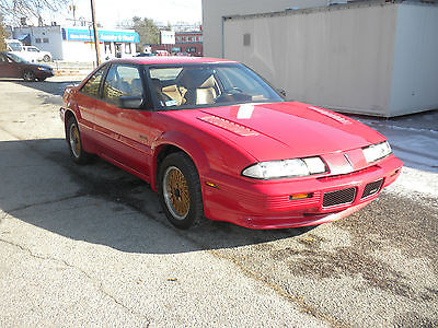Pontiac : Grand Prix TURBO 1990 pontiac grand prix mclaren coupe 2 door 3.1 l turbo 1 owner rare great shape