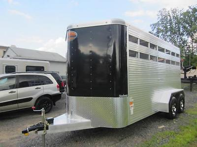 NEW 2016 Sundowner Stockman Bumper Pull Horse Trailer With WARRANTY !