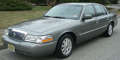 Mercury : Grand Marquis ESTATE SALE! 2003 mercury grand marquis ls 1 owner 68 k ultimate ed leather wood trim xlnt