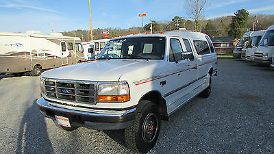 Ford : F-250 XLT 1994 ford f 250 supercab xlt 4 x 4 only 62 k miles 7.3 powerstroke 1 owner video