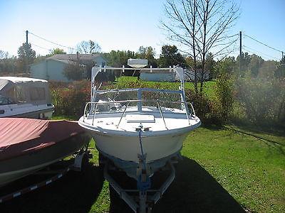 1965 Bertram Moppie Fishing Boat 25ft Twin Mercruiser 120s