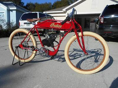 Custom Built Motorcycles : Other 1914 indian board track racer replica