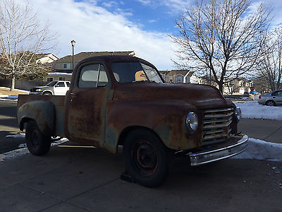 Studebaker : 2R5 1950 studebaker 2 r 5 pick up truck hot rod rat classic ford chevy f 1 1500 willys