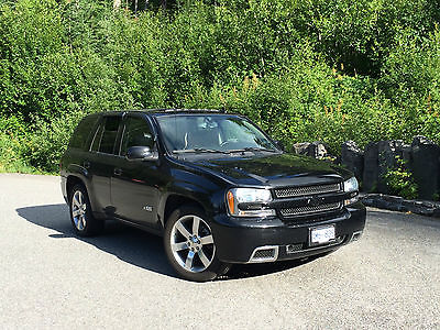 Chevrolet : Trailblazer SS 2007 black trailblazer ss awd ls 2 loaded low milage