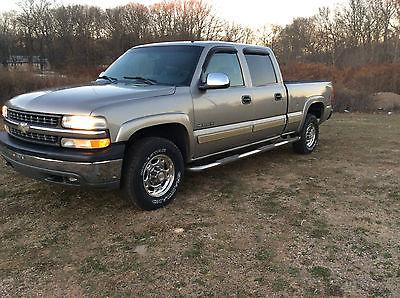 Chevrolet : Silverado 1500 LT Extended Cab Pickup 4-Door 2001 chevy silverado 1500 hd 2500 4 x 4 crewcab rare find 1 owner truck loaded