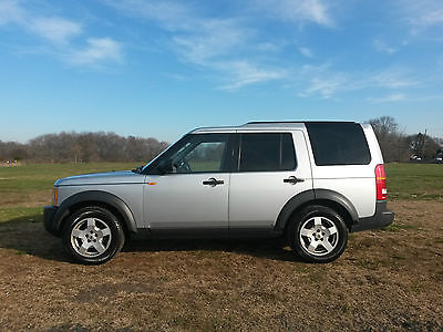 Land Rover : LR3 SE Sport Utility 4-Door 2006 land rover lr 3 se v 6 4 wd 4 x 4 silver black suv w 3 rd row a great truck
