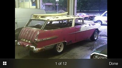 Pontiac : Other Star chief 1956 pontiac safari nomad