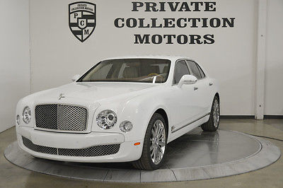 Bentley : Mulsanne 2012 bentley