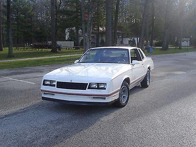 Chevrolet : Monte Carlo SS 1987 monte carlo ss