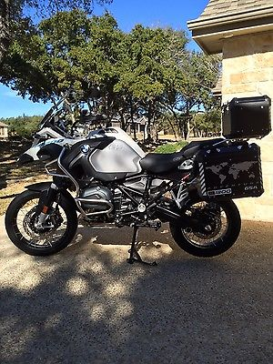 BMW : R-Series 2015 bmw r 1200 gs adventure loaded showroom perfect