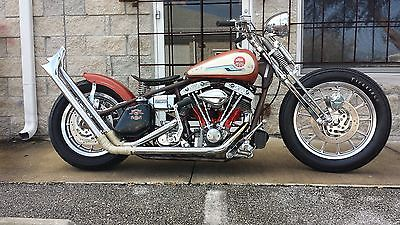 Custom Built Motorcycles : Bobber Harley Davidson Shovel Head Custom Bobber