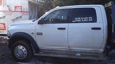 Dodge : Ram 5500 2012 dodge 5500 crew cab