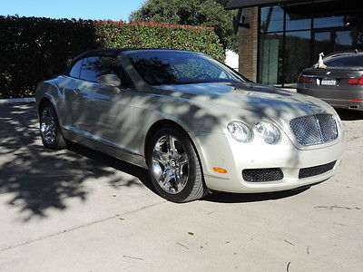 Bentley : Continental GT GTC Convertible 2-Door Beautiful GTC Extremely well maintained here in Austin Texas!