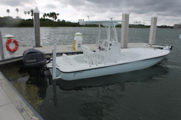 2014 Yellowfin Bay Boat
